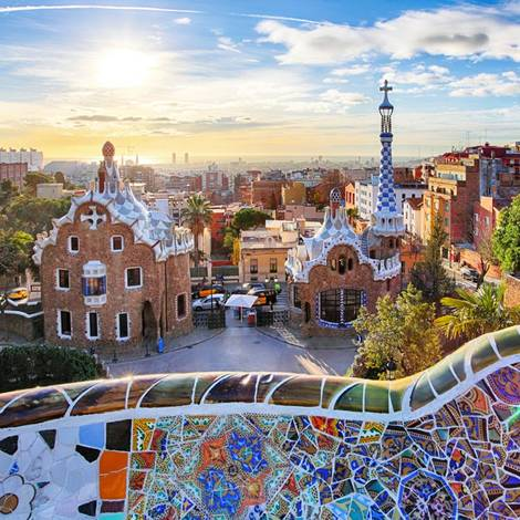 Parc Guell i Barcelona
